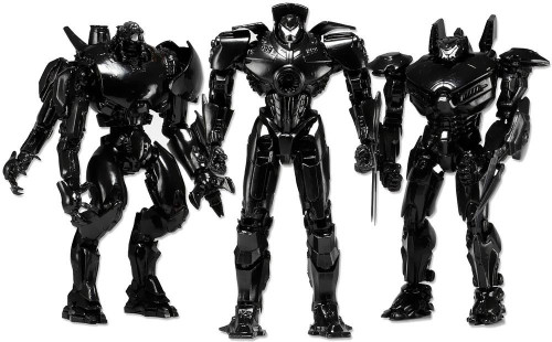 NECA Pacific Rim End Credits Exclusive Action Figure 3-Pack Set