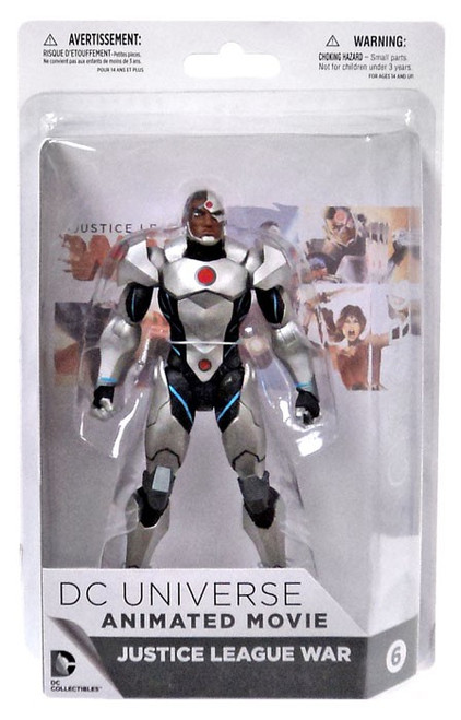 DC Justice League War Cyborg Action Figure