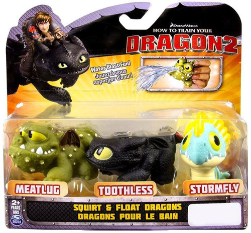How to Train Your Dragon 2 Bath Toys Squirt & Float Dragons