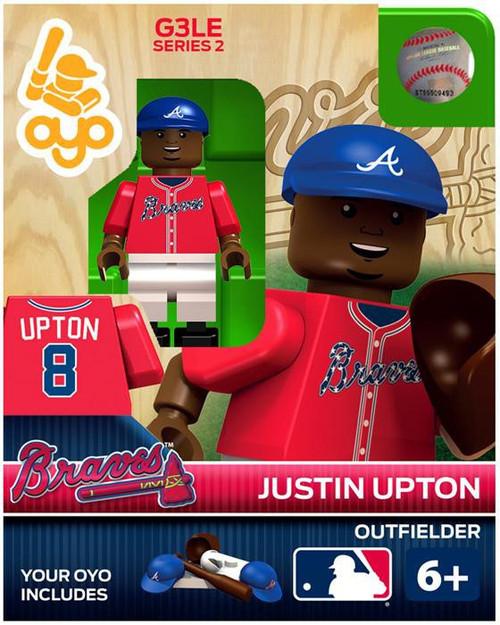 Atlanta Braves MLB Generation 3 Series 2 Justin Upton Minifigure