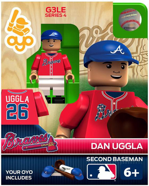 Atlanta Braves MLB Generation 3 Series 4 Dan Uggla Minifigure