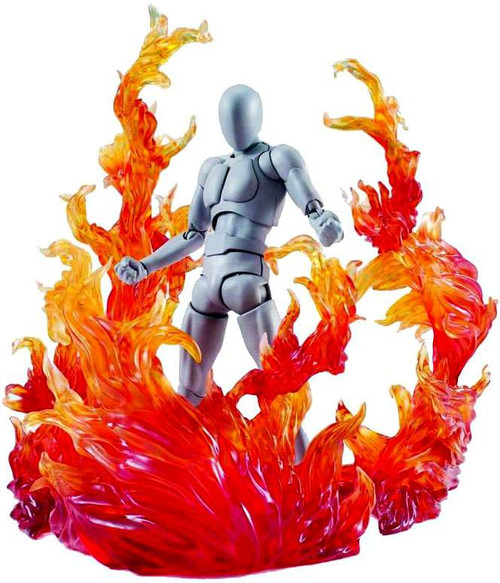 Tamashii Nations Effect Burning Flame Accessory [Red Version]