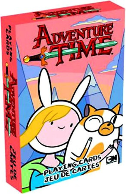 Adventure Time Fionna & Cake Playing Card Deck