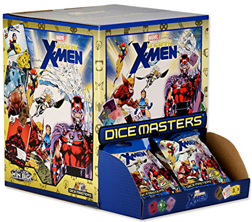 Marvel Dice Masters Uncanny X-Men Gravity Feed Booster Box [60 Packs]