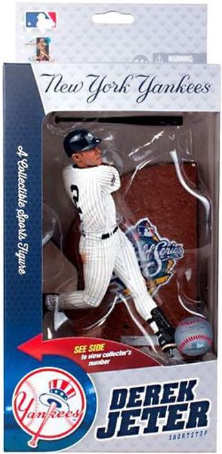 McFarlane Toys MLB New York Yankees Sports Picks World Series Derek Jeter 1999 Action Figure
