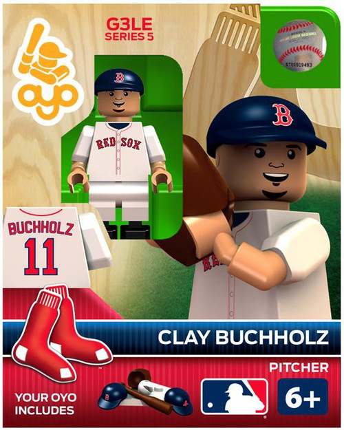Boston Red Sox MLB Generation 3 Series 5 Clay Buchholz Minifigure