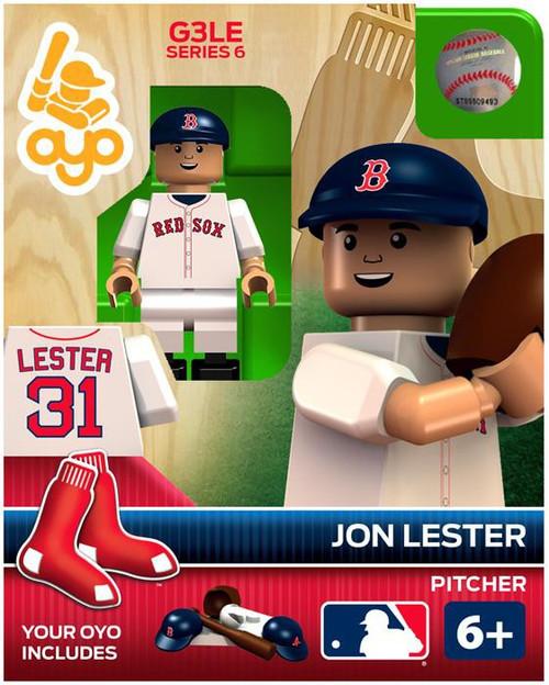 Boston Red Sox MLB Generation 3 Series 6 Jon Lester Minifigure