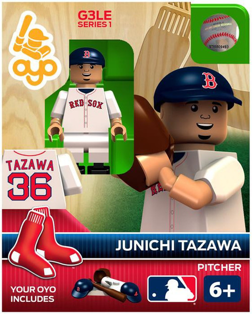 Boston Red Sox MLB Generation 3 Series 1 Junichi Tazawa Minifigure