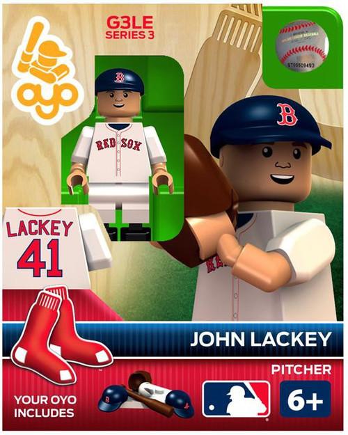 Boston Red Sox MLB Generation 3 Series 3 John Lackey Minifigure