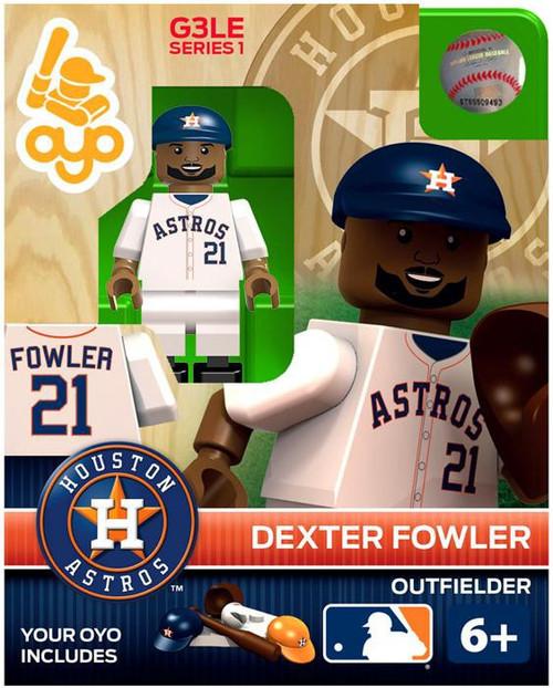 Houston Astros MLB Generation 3 Series 1 Dexter Fowler Minifigure