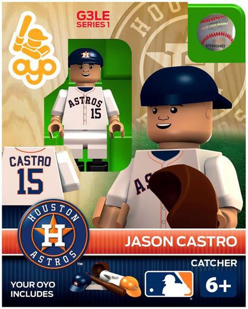 Houston Astros MLB Generation 3 Series 1 Jason Castro Minifigure