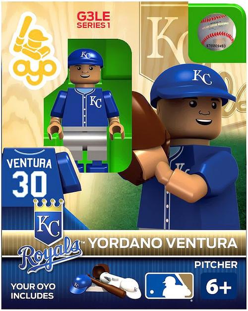 Kansas City Royals MLB Generation 3 Yordano Ventura Minifigure