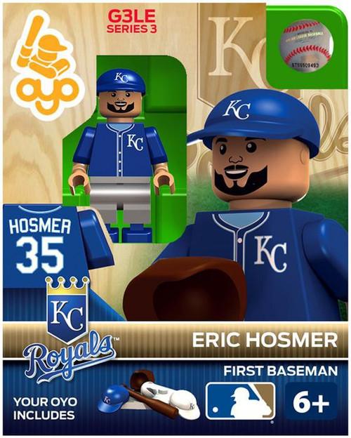 Kansas City Royals MLB Generation 3 Series 3 Eric Hosmer Minifigure