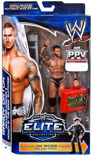WWE Wrestling Elite Collection Pay Per View Randy Orton Exclusive Action Figure [Jim Ross Build a Figure]