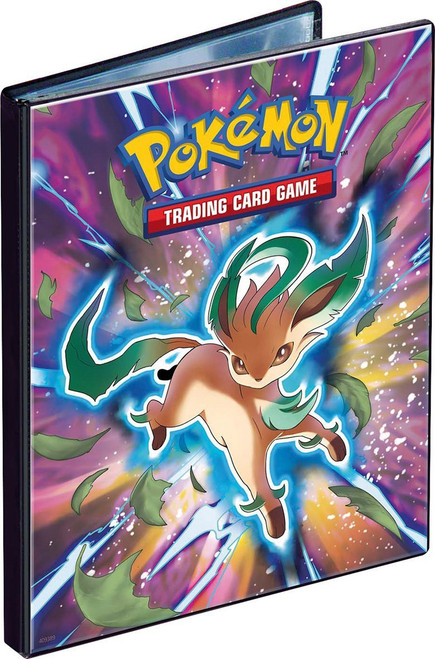Ultra Pro Pokemon Trading Card Game Card Supplies Leafeon 4-Pocket Binder