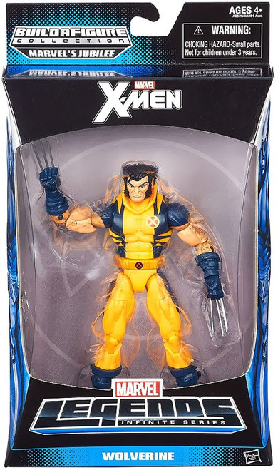 X-Men Marvel Legends Jubilee Series Wolverine Action Figure