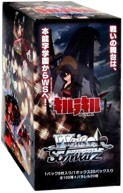 Weiss Schwarz Kill La Kill (Japanese) Booster Box [20 Packs]