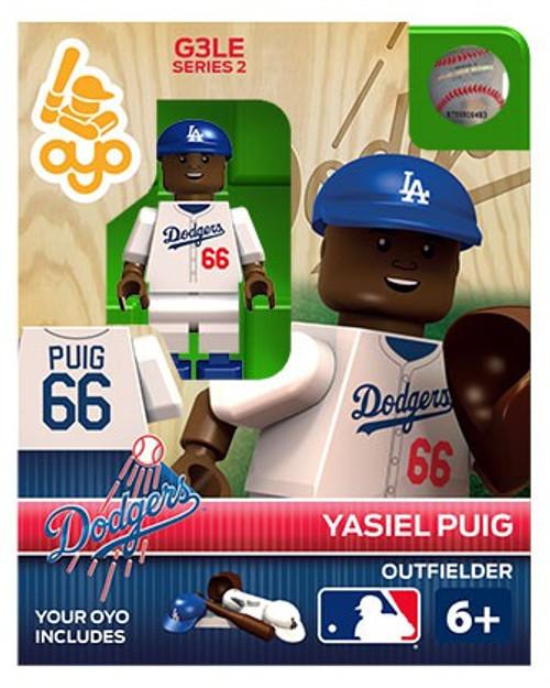 Los Angeles Dodgers MLB Generation 3 Series 2 Yasiel Puig Minifigure P-MLBLAD66-G3LE