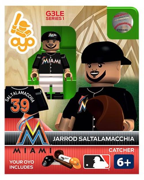 Miami Marlins MLB Generation 3 Series 1 Jarrod Saltalamacchia Minifigure P-MLBMIA39-G3LE