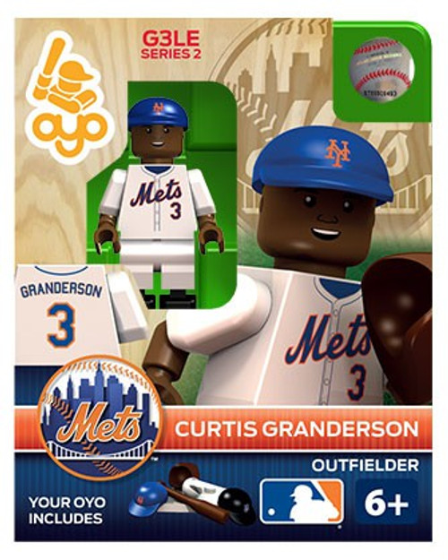 New York Mets MLB Generation 3 Series 2 Curtis Granderson Minifigure P-MLBNYM03-G3LE