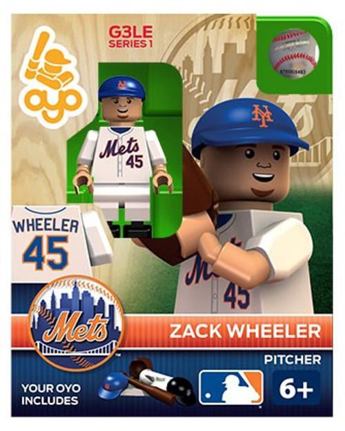 New York Mets MLB Generation 3 Series 1 Zach Wheeler Minifigure P-MLBNYM45-G3LE