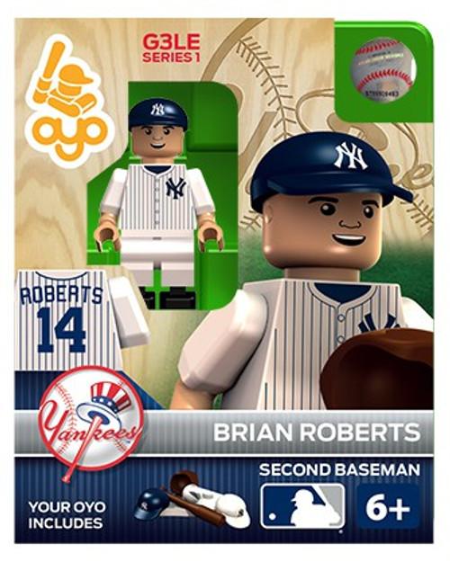 New York Yankees MLB Generation 3 Series 1 Brian Roberts Minifigure P-MLBNYY14-G3LE