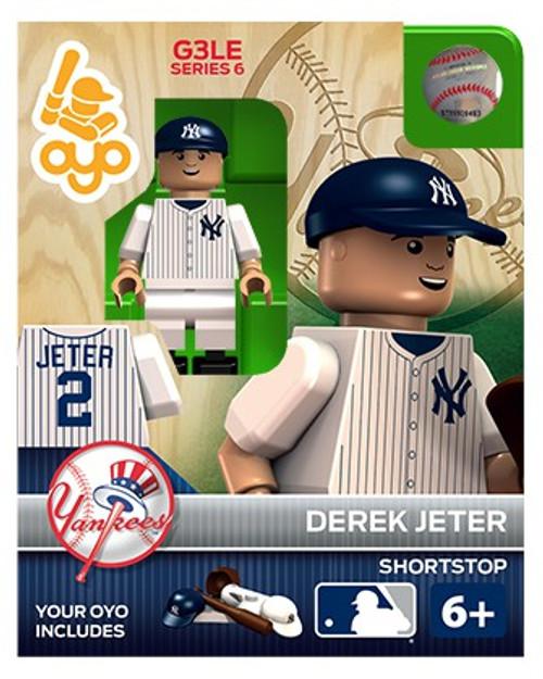 New York Yankees MLB Generation 3 Series 6 Derek Jeter Minifigure P-MLBNYY02-G3LE
