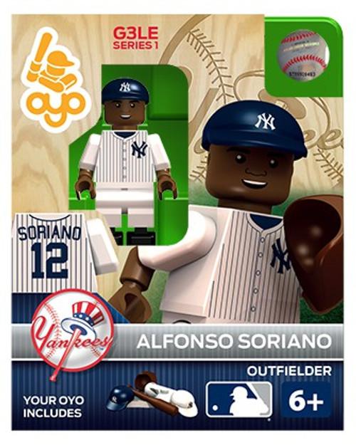 New York Yankees MLB Generation 3 Series 1 Alfonso Soriano Minifigure P-MLBNYY12-G3LE
