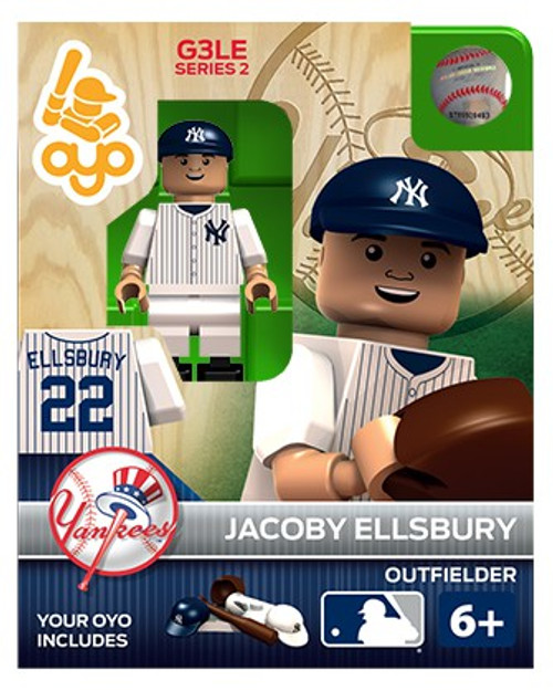 New York Yankees MLB Generation 3 Series 2 Jacoby Ellsbury Minifigure P-MLBNYY22-G3LE