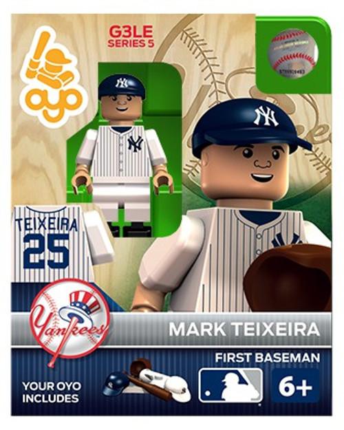 New York Yankees MLB Generation 3 Series 5 Mark Teixeira Minifigure P-MLBNYY25-G3LE