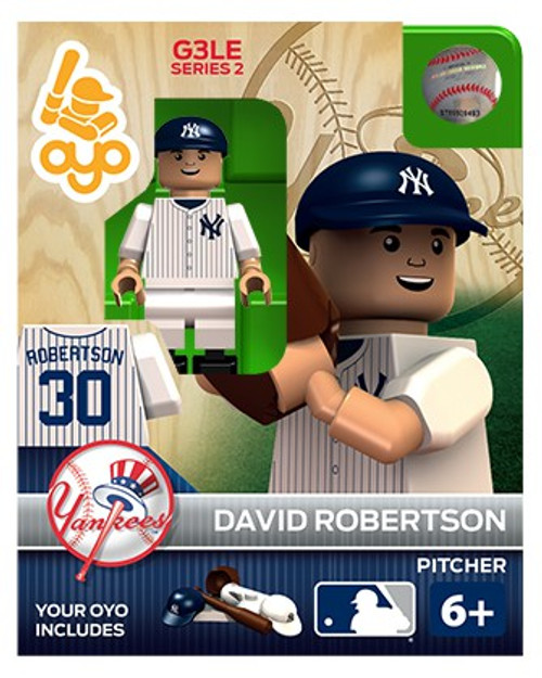 New York Yankees MLB Generation 3 Series 2 David Robertson Minifigure P-MLBNYY30-G3LE