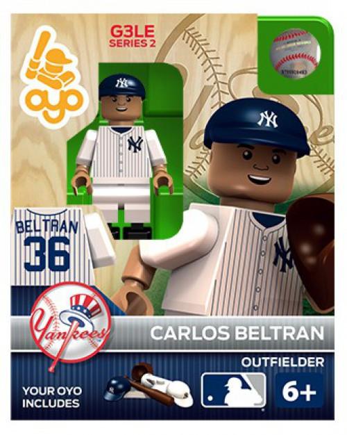 New York Yankees MLB Generation 3 Series 2 Carlos Beltran Minifigure P-MLBNYY36-G3LE