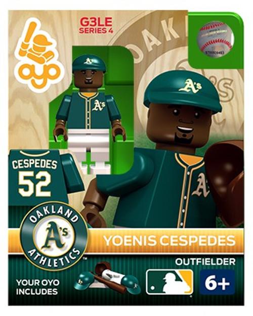 Oakland A's MLB Generation 3 Series 4 Yoenis Cespedes Minifigure P-MLBOAK52-G3LE