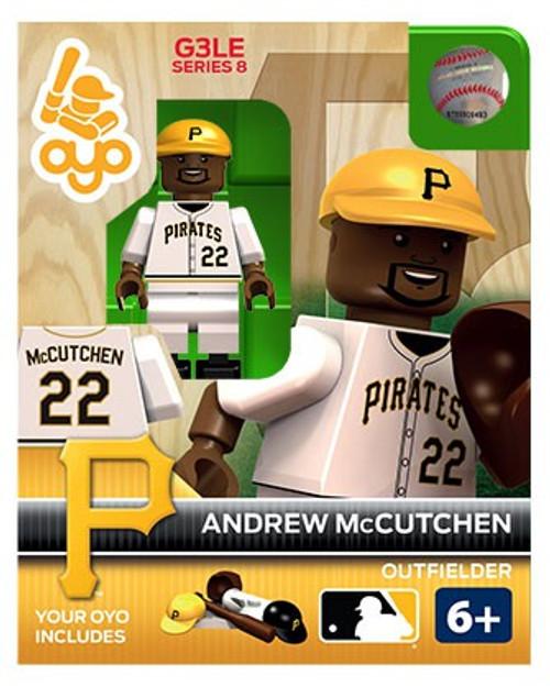 Pittsburgh Pirates MLB Generation 3 Series 8 Andrew McCutchen Minifigure P-MLBPIT22-G3LE