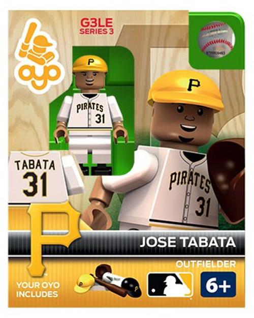 Pittsburgh Pirates MLB Generation 3 Series 3 Jose Tabata Minifigure P-MLBPIT31-G3LE