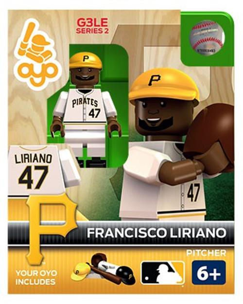 Pittsburgh Pirates MLB Generation 3 Series 2 Francisco Liriano Minifigure P-MLBPIT47-G3LE
