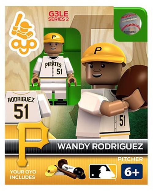 Pittsburgh Pirates MLB Generation 3 Series 2 Wandy Rodriguez Minifigure P-MLBPIT51-G3LE