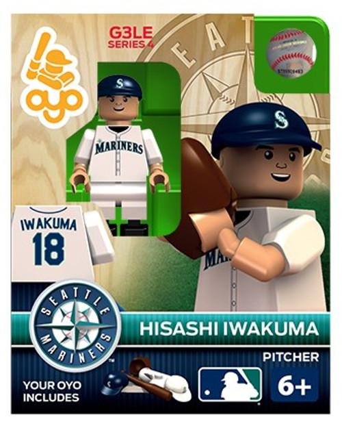 Seattle Mariners MLB Generation 3 Series 4 Hisashi Iwakuma Minifigure P-MLBSEA18-G3LE