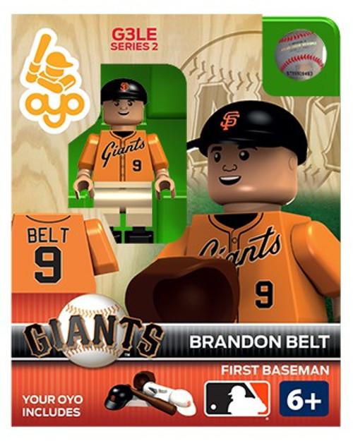 San Francisco Giants MLB Generation 3 Series 2 Brandon Belt Minifigure P-MLBSFG09-G3LE