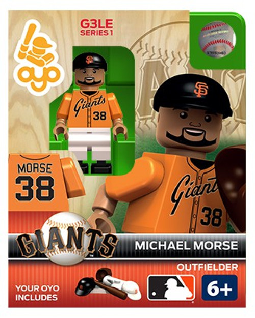 San Francisco Giants MLB Generation 3 Series 1 Michael Morse Minifigure P-MLBSFG38-G3LE