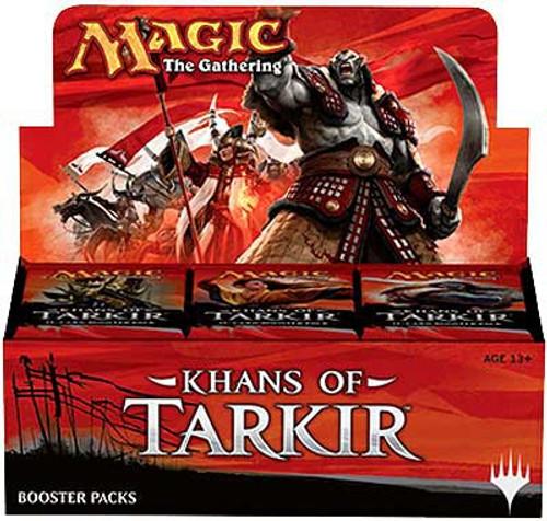 MtG Trading Card Game Khans of Tarkir Booster Box [36 Packs]
