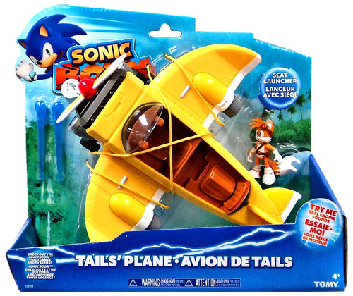 Sonic The Hedgehog Sonic Boom Tail's Plane Action Figure Vehicle