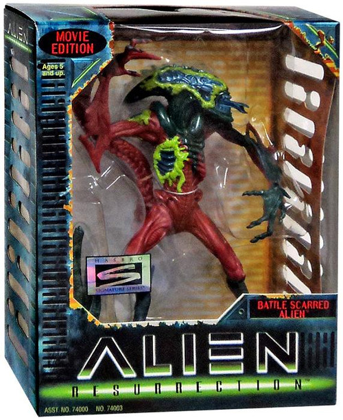 Resurrection Signature Series Battle Scarred Alien Action FIgure