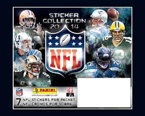 NFL Panini 2014 Football Sticker Collection Box [50 Packs]