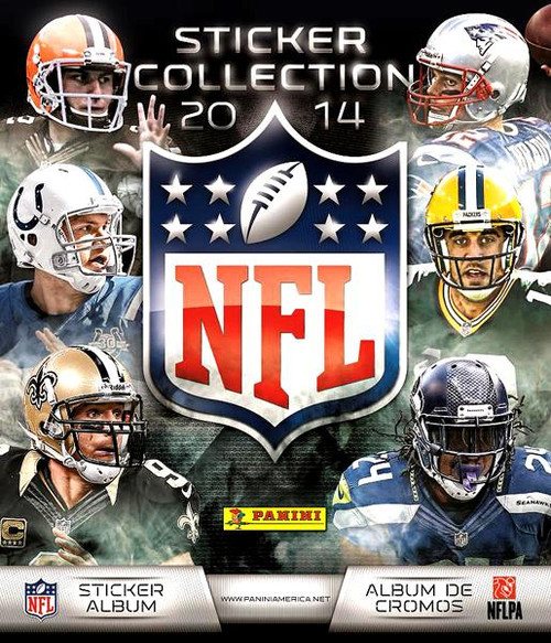 NFL Panini 2014 Football Sticker Collection Album