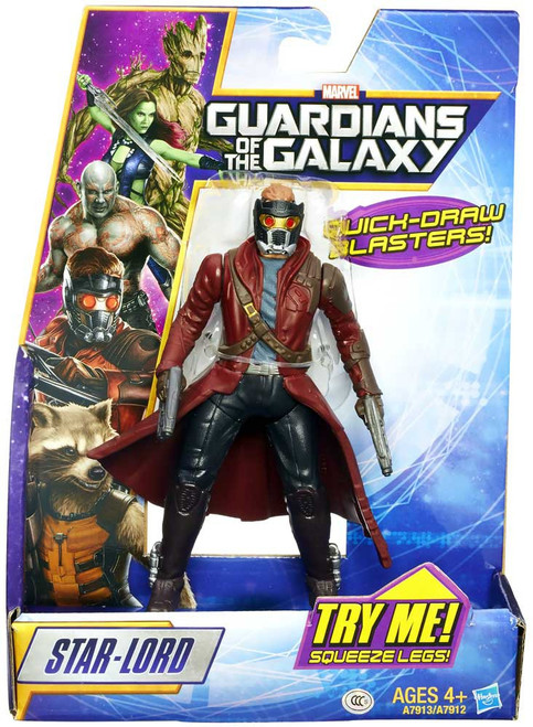 Marvel Guardians of the Galaxy Rapid Revealers Star-Lord Action Figure