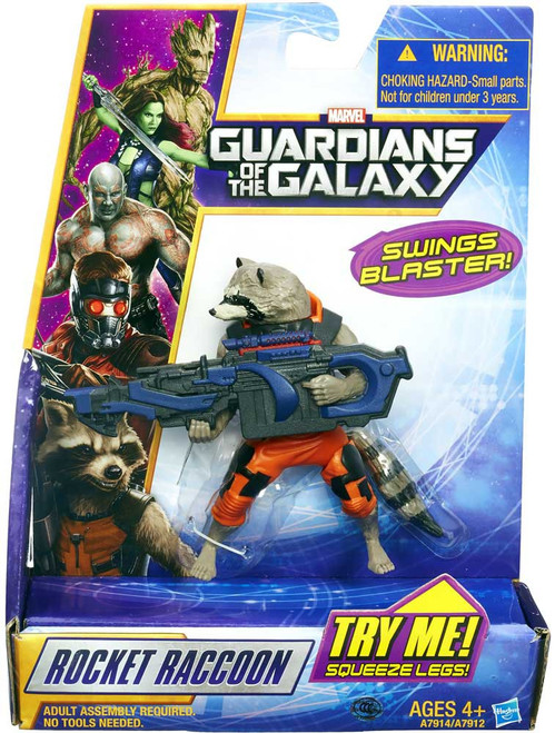 Marvel Guardians of the Galaxy Rapid Revealer Rocket Raccoon Action Figure