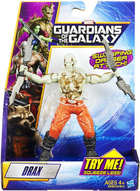 Marvel Guardians of the Galaxy Rapid Revealer Drax Action Figure