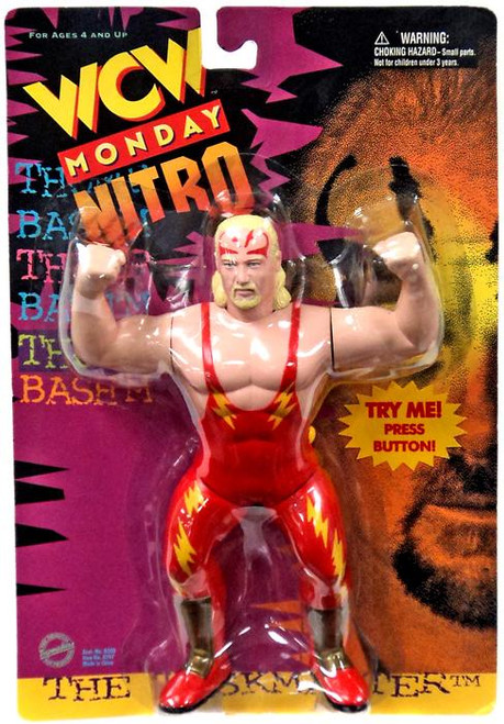 WWE Wrestling WCW Monday Nitro The Taskmaster Action Figure