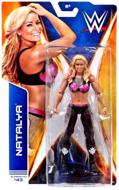 WWE Wrestling Series 42 Natalya Action Figure #43